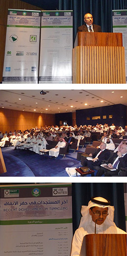 ITACET training session in Riyadh, 16-18 November 2014. Conventional Tunnelling